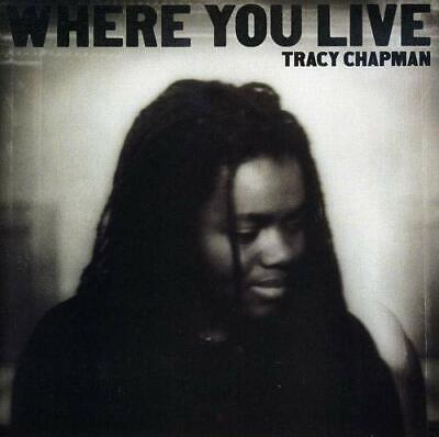 Tracy Chapman - Where You Live - Tracy Chapman CD 8AVG The Cheap Fast Free Post