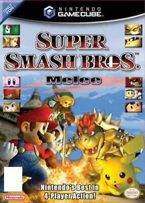 Gamecube - Super Smash Bros Melee - Game  M0VG The Cheap Fast Free Post