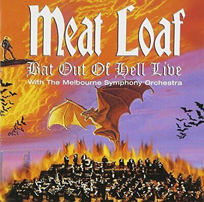 Meat Loaf - Bat Out of Hell - Live With The Melbourne Sym... - Meat Loaf CD 6AVG
