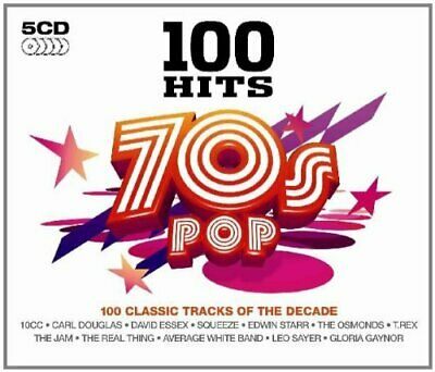 Various Artists - 100 Hits - 70's Pop - Various Artists CD R4VG The Cheap Fast