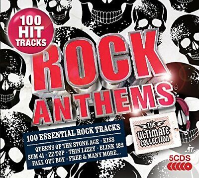 Various - Rock Anthems - The Ultimate Collection - Various CD 9WVG The Cheap The