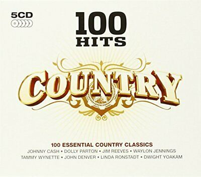 Various Artists - 100 Hits: Country - Various Artists CD TGVG The Cheap Fast The