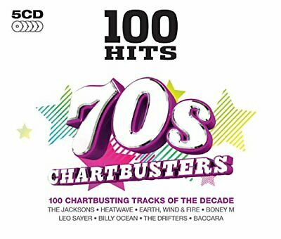 Various Artists - 100 Hits: 70s Chartbusters - Various Artists CD 0QVG The Cheap