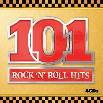 Various Artists - 101 Rock N Roll Hits - Various Artists CD EGVG The Cheap Fast
