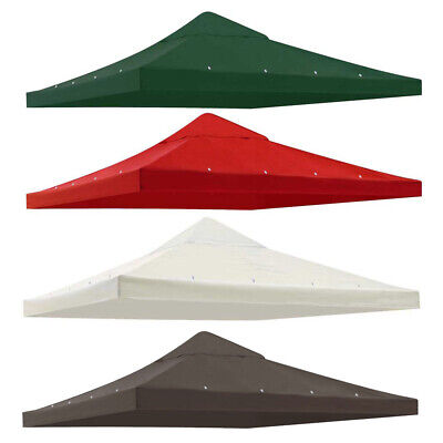 9.76'x9.76' Gazebo Top Canopy Replacement Patio Sunshade Cover for 10'x10' Frame