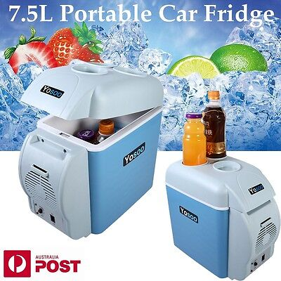 Portable 7.5L Car Fridge Freezer Cooler Warmer 12V Mini Camping Refrigerator New