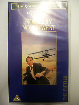 NORTH BY NORTHWEST [1959] VHS – Hitchcock: Cary Grant, Eva Marie Saint, J Mason
