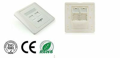 ethernet port wall faceplate