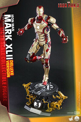 Marvel Iron Man 3 MK XLII 42 Deluxe version 1/4 Quarter scale figure Hot Toys
