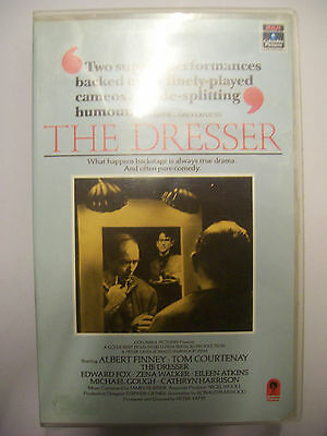 THE DRESSER [1983] VHS Pre-Cert – Albert Finney, Tom Courtenay, Edward Fox