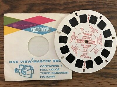 View Master Reel THE ANCIENT WORLD Gaf DR-57