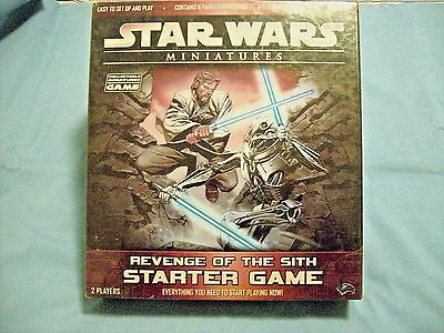 STAR WARS Miniatures Revenge of the Sith Starter Game w/Box