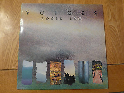 Roger Eno Voices First Press - near mint - Vinyl LP