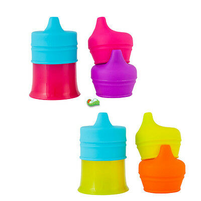 Boon Snug Spout with Cup - Orange Multi & Pink Multi |Boon Sippy cups Sipper Cup