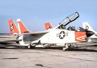 Photo 10x8 VOUGHT F-8 CRUSADER [01]