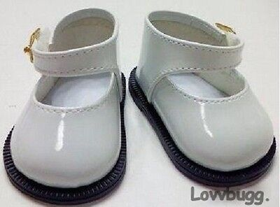 "White Patent Mary Janes for American Girl 18"" Doll Shoes Lovvbugg: TRUE US SALE!"