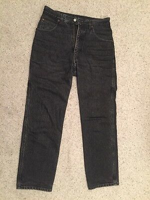 Black Armoured Shoshoni Motorcycle Biker Jeans 32S