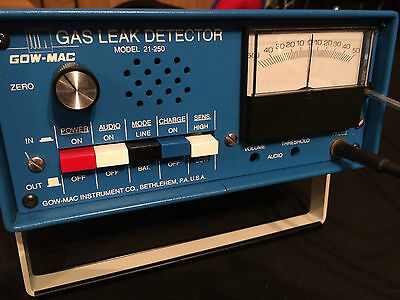 GOW-MAC 21-250 Gas Leak Detector with box case