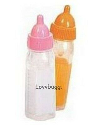 Milk Juice Baby Bottle s for Bitty Baby Reborn Madame Alexander + TRUE US SELLER
