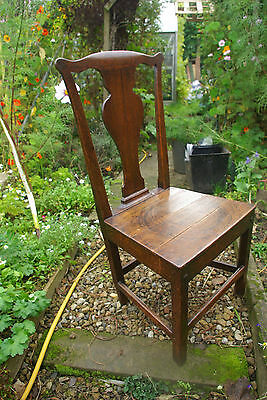 Antique Georgian Country Hall Chair