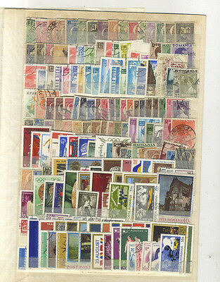 Lot 211  Timbres Roumanie