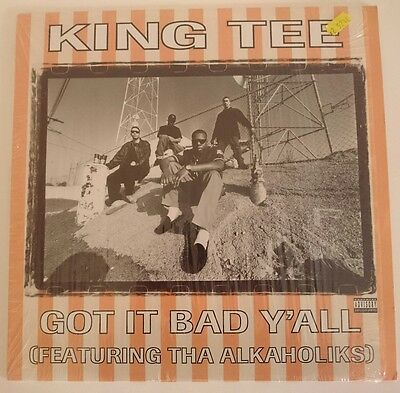 KING TEE Got It Bad Ya'll HIP HOP Vinyl Record 12""