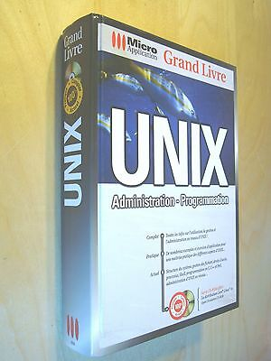 Wielsch Unix Administration Programmation Micro Application + cd-rom Corel Linux