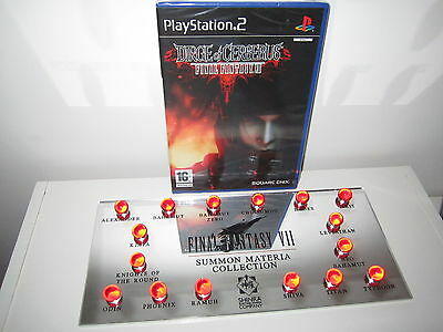 lot final fantasy VII summon materia collection dirge of cerberus pal fr blister