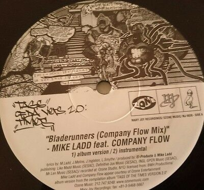 MIKE LADD Feat COMPANY FLOW Bladerunners HIP HOP Vinyl Record 12""