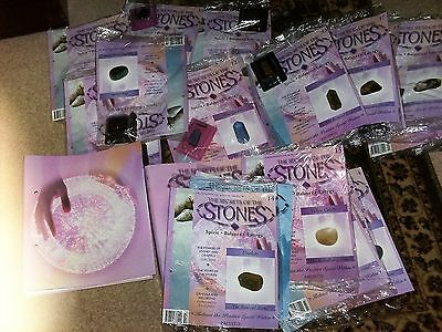 Large Collection of Magazines 'The Secret of the Stones'