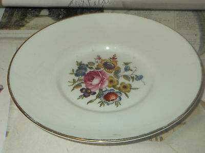 Vintage Royal Doulton Shabby Chic Style Floral Pin Dish