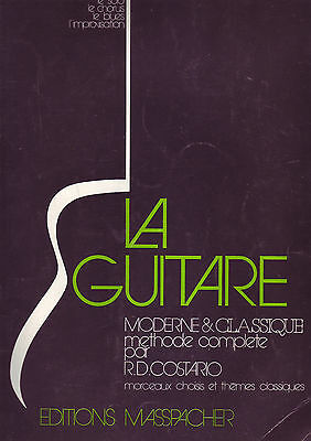 Méthode d'apprentissage de la guitare