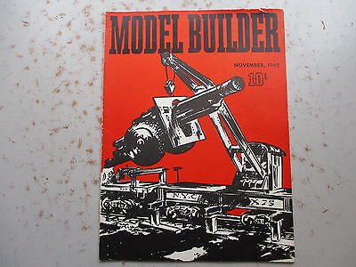 The Model Builder Magazine from LIONEL - November 1942  Issue