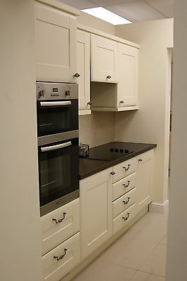 Cream Ex Display Kitchen Units With Appliances