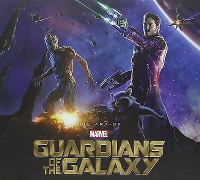 Marvel The Art Of Guardians Of The Galaxy hardcover (slipcase)