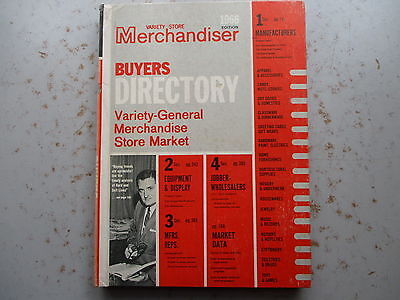 Variety Store Merchandiser Directory - 1966 Annual Hardcover Reference