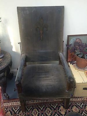 A Late 17th century Walnut/upholstered  Reclining Chair