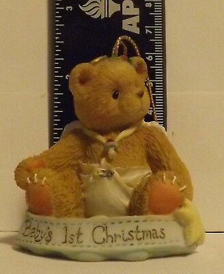 Cherished Teddies Baby's First Christmas 1995