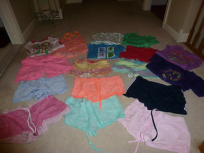 Lot 17 Girl Summer Spring Shorts Tops Clothes Size 7 - 9