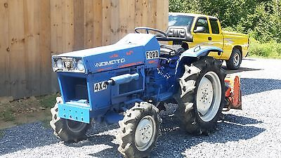 Hinomoto 180 4x4 diesel tractor w/pto & 3 pt hitch WATCH VIDEO  22hp?  Will ship