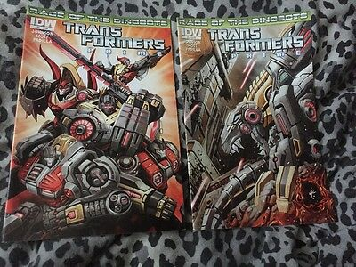 Transformers Prime Issues 1 And 2 Comic