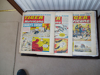 Tiger and Hurricane annual/comics x 3 1960s