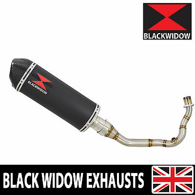 Piaggio Vespa LX 125 IE 3V12/16 System Black Stainless/Carbon Tip Silencer 300BT