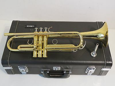 Yamaha YTR6310Z Bobby Shew Custom Z Series Trumpet Outfit – Gold Lacquer Finish