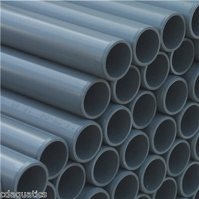 """PVC Imperial Solvent Weld Pressure Pipe 3/4"""" To 4"""" For Ponds"""