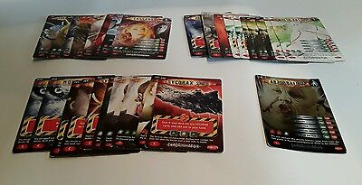 Dr who Battles in Time Trading Cards (2006) 31 cards from 200-272 inc 238