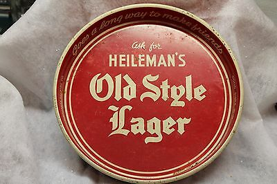 Vintage Heileman's Old Style Lager tray G. Heileman Brewing Co., La Crosse, Wis