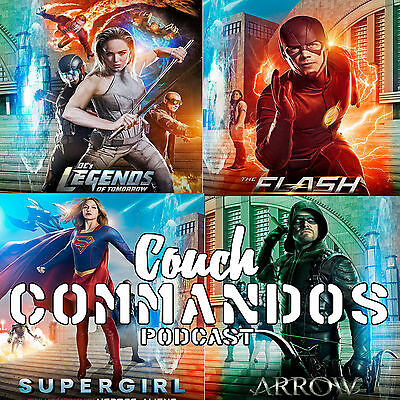 Cross-Over The Flash –Arrow-Supergirl-Legend'S Of Tomorrow      ----   Invasion
