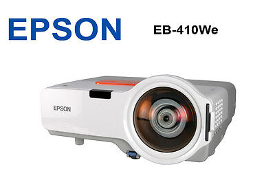 EPSON 410We PROJECTOR SHORT THROW 16:10 LOW HOUR BEAMER WIDE SCREEN CHEAP