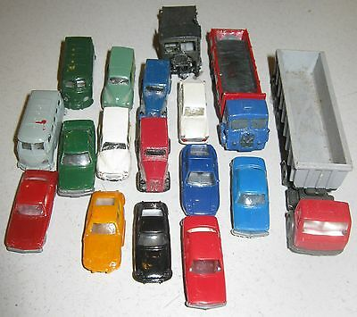 N Gauge Car/Lorry collection - various makes